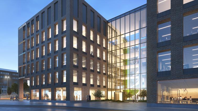 Kanresta avaa ravintolan kesällä 2022 valmistuvaan Fredriksberg D-taloon Vallilan Konepajan alueelle